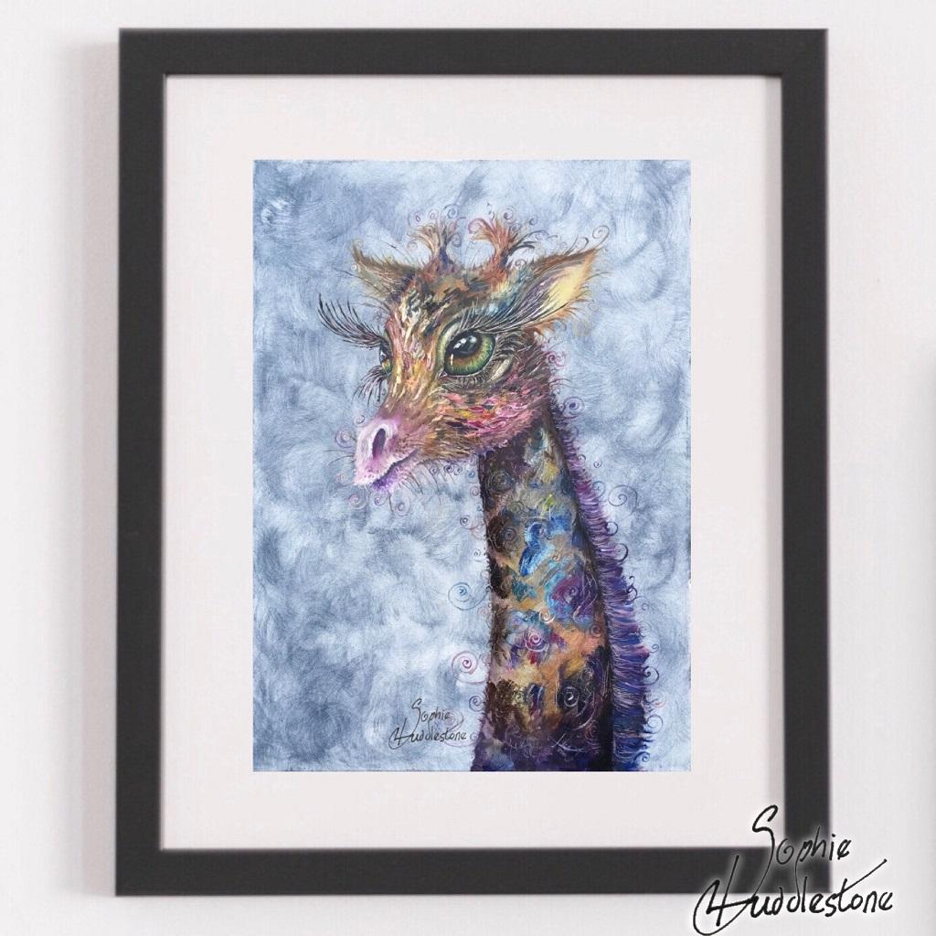 swirly giraffe by sophie huddlestone swirlysoph com 1024.1024.2020