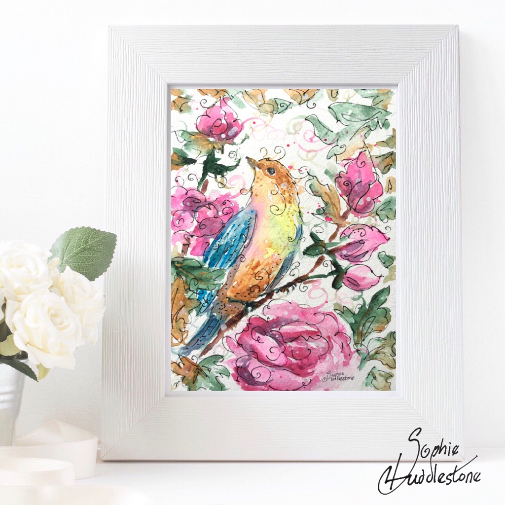 painting swirlysoph com 9063.7.12.ybird